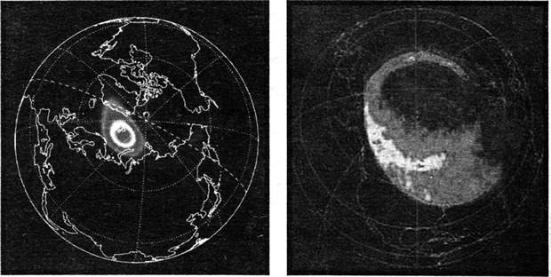 Снимки земных полярных сияний