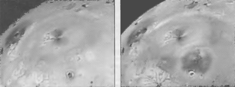 Снимок поверхности Ио