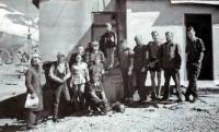 Сотрудники обсерватории Терскол. Август 1998 г.