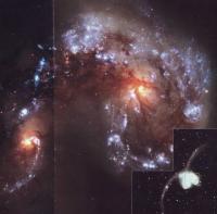 Сталкивающиеся галактики Антенны