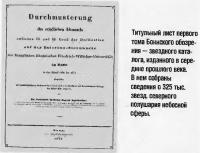 Титульный лист первого тома Боннского обозрения