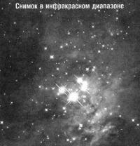 Трапеции Ориона в инфракрасном диапазоне