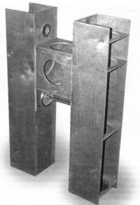 Трубы бинокуляра, сделанные из фанеры