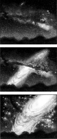 Туманность Андромеды (рисунок)