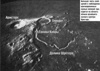 Вблизи ярчайшего лунного кратера Аристарх