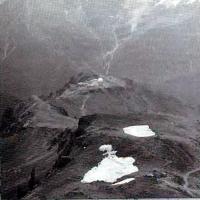 Вид на обсерваторию Терскол с Эльбруса