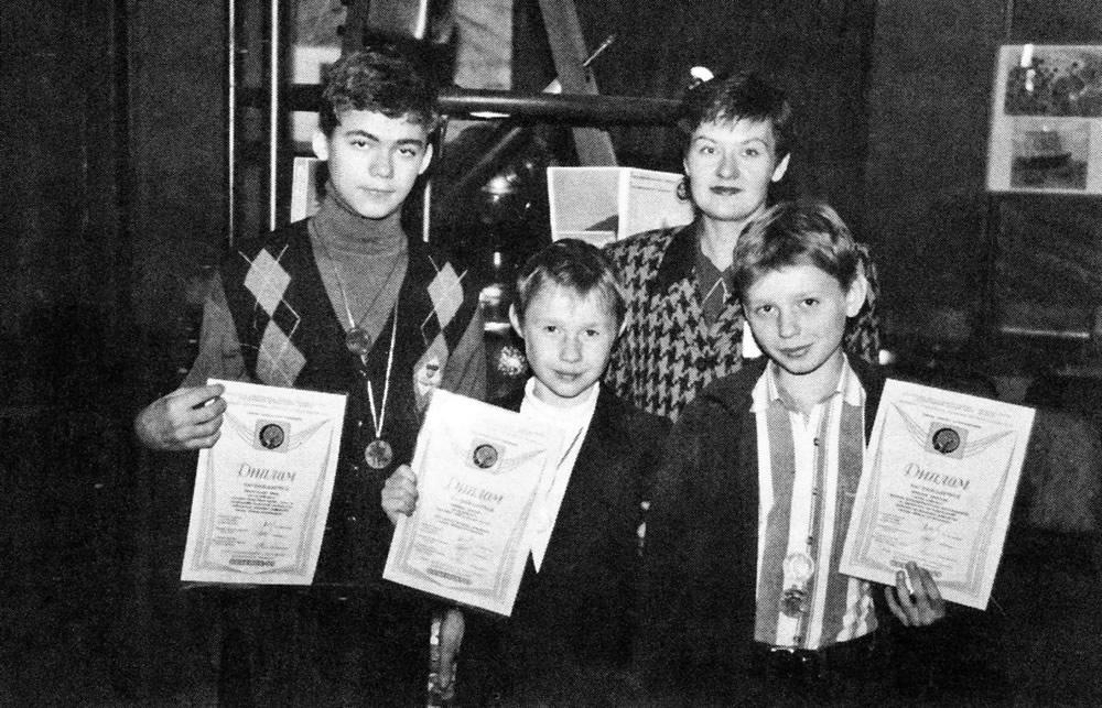 Воспитанники получили грамоты, медали и благодарственные письма