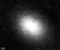 Вспышка сверхновой в другой галактике