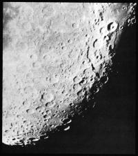Южная часть диска Луны