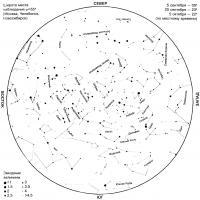 Звездное небо Сентябрь 1996