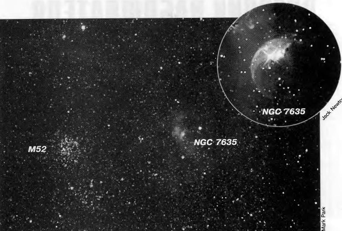 Звездное скопление NGC 7635